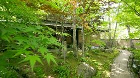 由布院温泉 おやど 二本の葦束施設全景