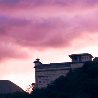 層雲峡 朝陽亭施設全景