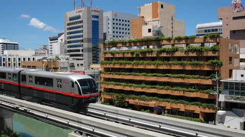 ホテルサンパレス球陽館施設全景