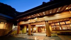 土湯温泉 ホテル山水荘施設全景
