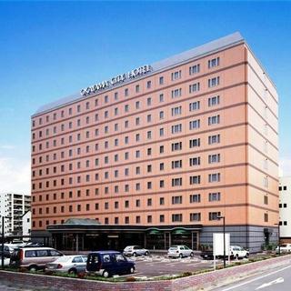 岡山シティホテル 桑田町施設全景