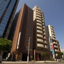 ホテルルートイン 札幌駅前北口施設全景