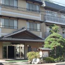 戸倉上山田温泉旅館 やすらぎの宿 旬樹庵 若の湯施設全景
