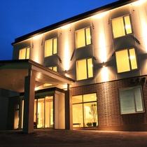 陶灯りの宿 らうす第一ホテル施設全景