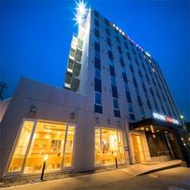 スーパーホテル山形駅西口天然温泉施設全景