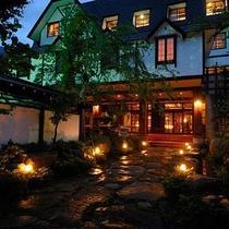 穂高荘 山のホテル施設全景