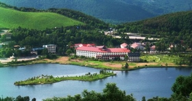 白樺湖ビューホテル施設全景