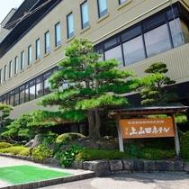 戸倉上山田温泉 湯元 上山田ホテル施設全景