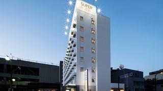 スーパーホテル山口湯田温泉施設全景