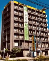 スーパーホテル 奈良新大宮駅前施設全景