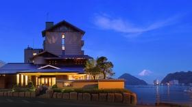 海と富士絶景の美食宿 伊豆・三津浜 松濤館(しょうとうかん)施設全景