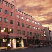 ビジネスホテル 加賀施設全景