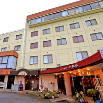 グリーンホテル小松家施設全景