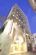 アレーホテル広島並木通(旧 ホテル かめまん)施設全景