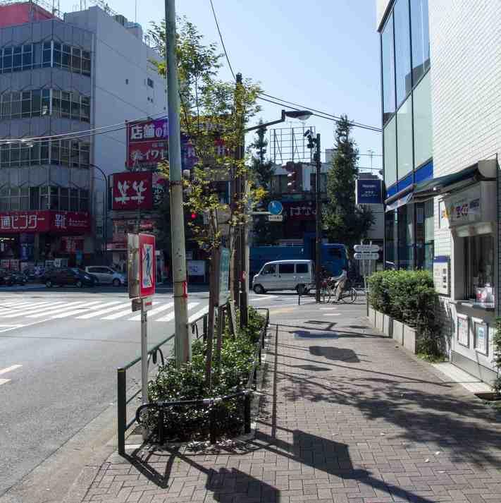 (3)青梅街道を向かい側へ