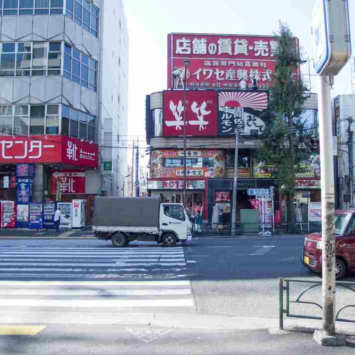 (7)セブンイレブン・吉野家側へ