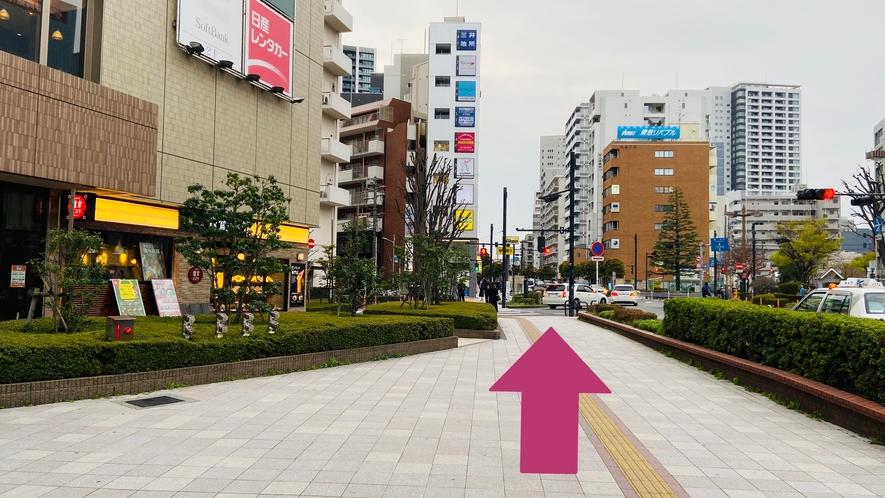 大井町駅からのご案内③