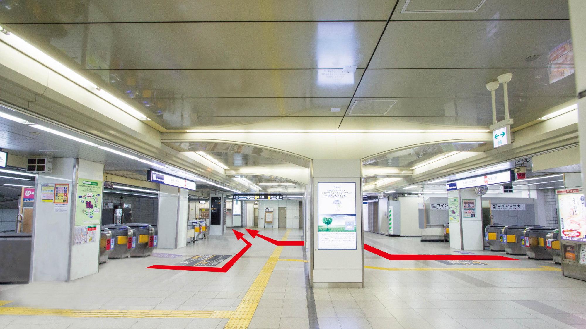 ■【地下鉄からのアクセス:1】