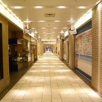 JR大阪駅 桜橋口改札より③ 梅三小路を通り抜ける