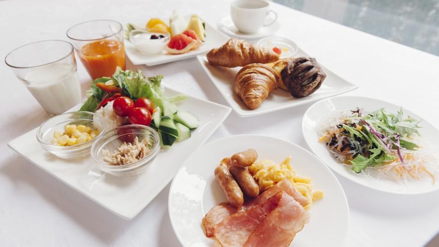 ■朝食バイキング