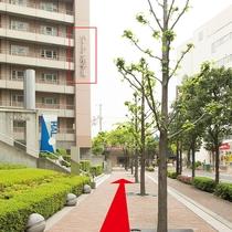 ■【リムジンバス乗り場からのアクセス:3】