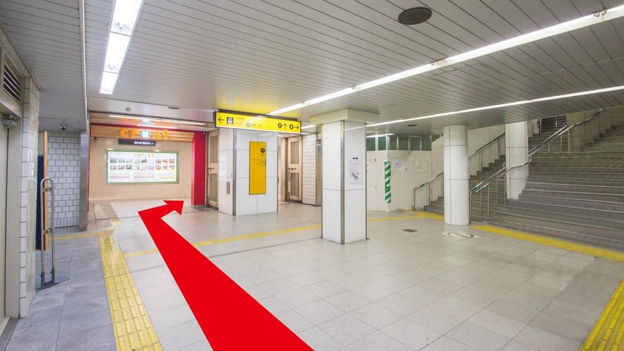 ■【地下鉄からのアクセス:2】