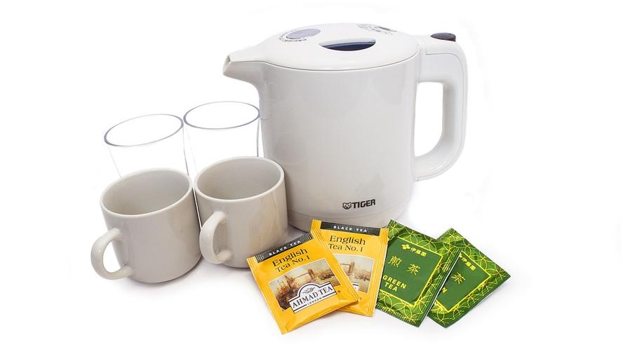 ■客室備品:お茶セット
