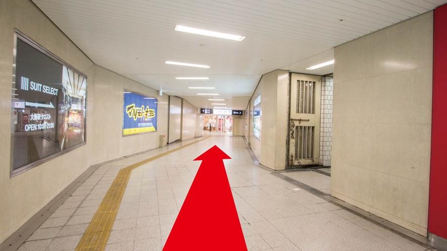 ■【地下鉄からのアクセス:3】