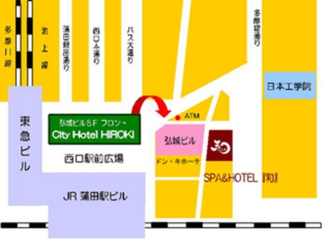 当館はJR蒲田駅西口徒歩0分!ドンキさんの隣デス。