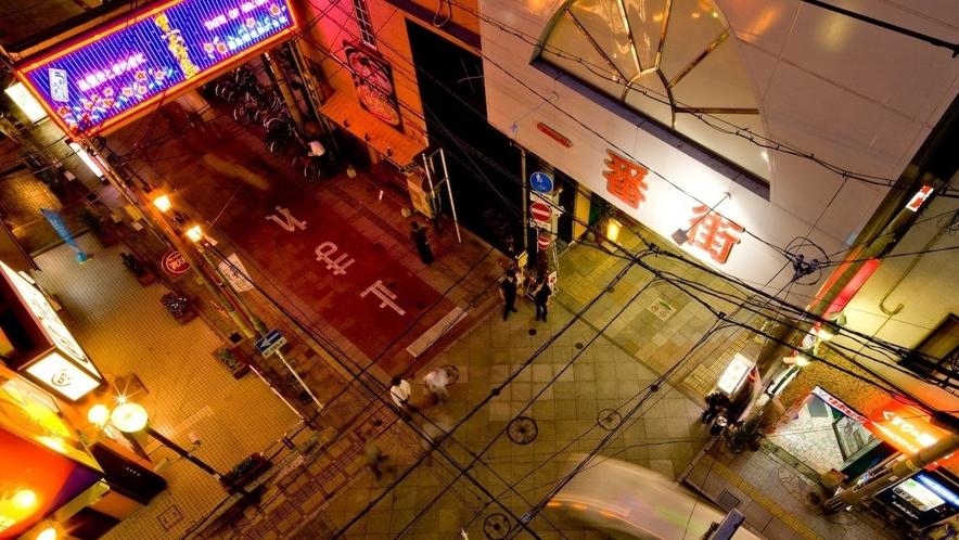 宮崎市繁華街