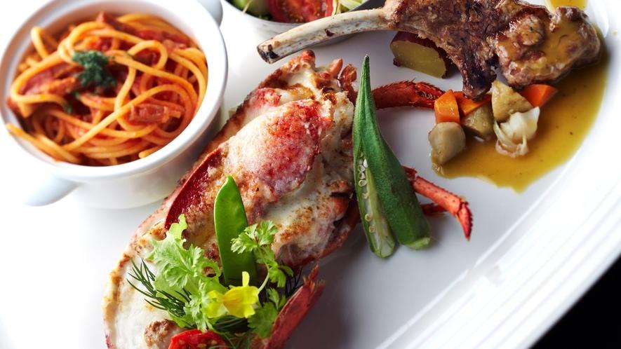 カステリアンルーム 料理一例