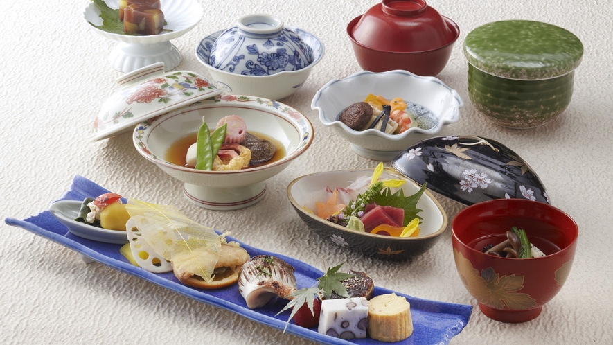 千羽鶴料理 料理一例