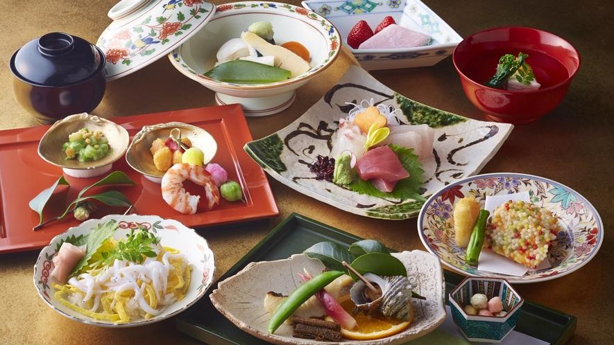 千羽鶴 料理一例