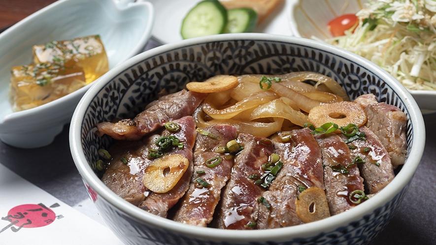 ■和食【六郎】/ステーキ丼