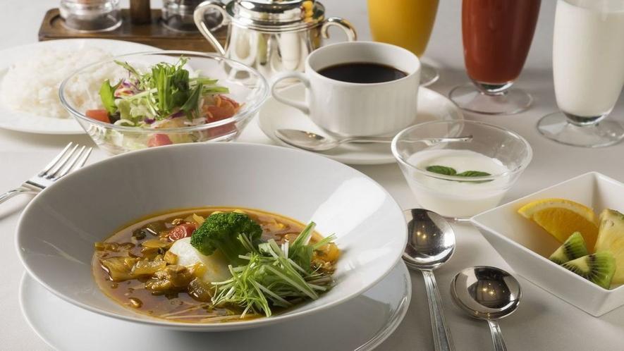 ■朝食メニュー/スープカレーセット