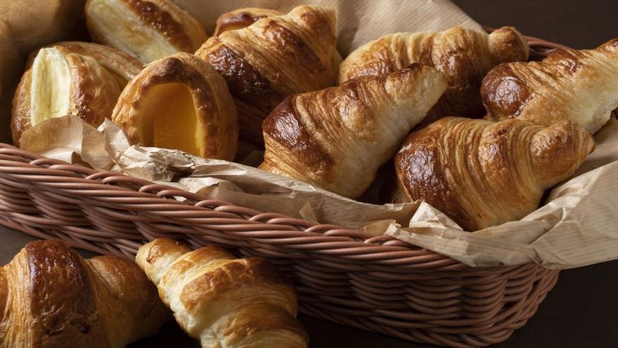 ■朝食メニュー/洋食の焼きたてパン