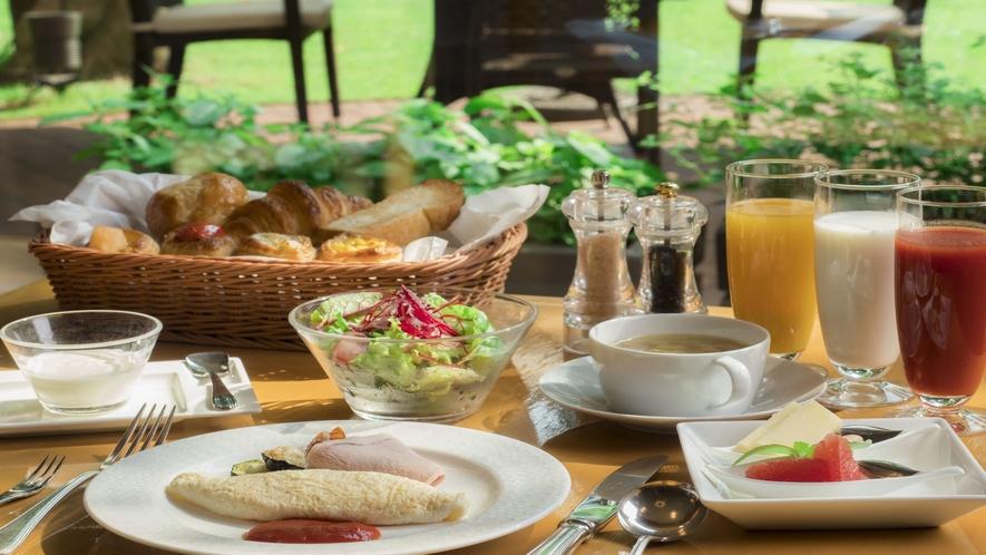 ■朝食メニュー/王道の洋食