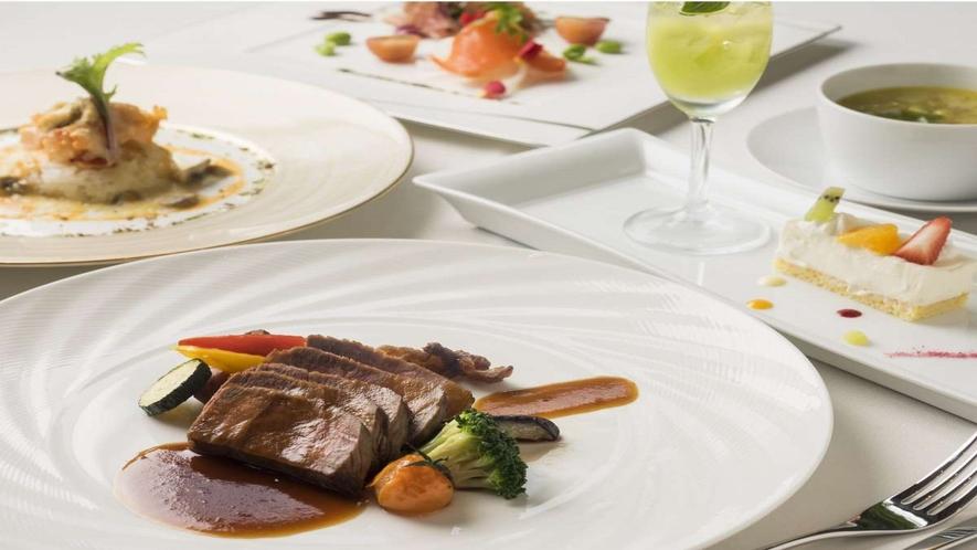 ■レストランバードウォッチカフェのコース料理(一例)