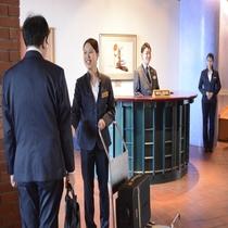 ◆帯広市内で唯一ベルスタッフが駐在するホテル