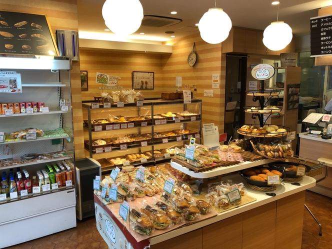 3丁目の小さなパン屋さん 店内売り場