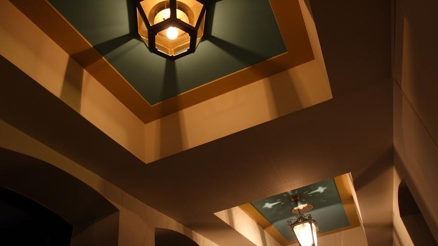 客室廊下天井照明