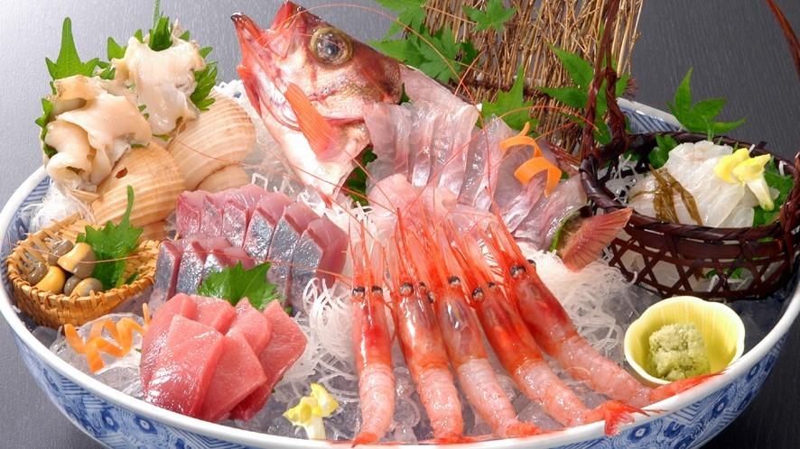 夕食イメージ(富山湾の味処・鯛家)