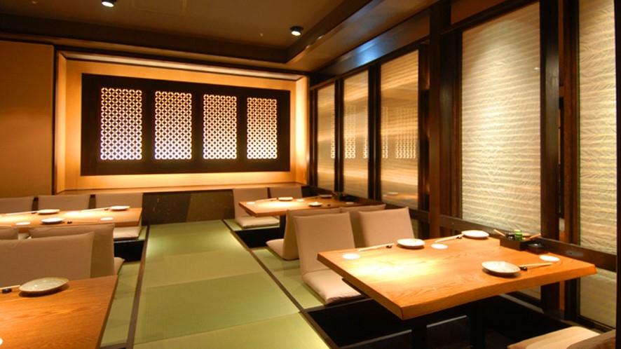 夕食店内イメージ(かまど料理とお酒・くろべ)