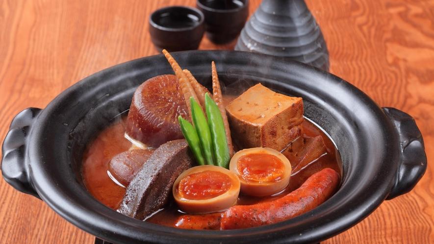 夕食イメージ(かまど料理とお酒・くろべ)