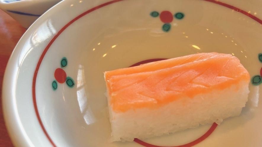 富山県限定メニュー・ます寿司