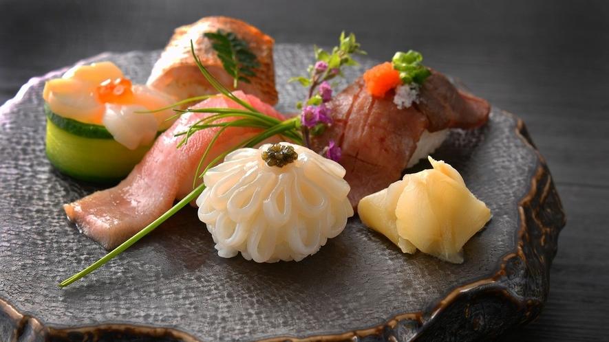 旬彩り華やか寿司五種