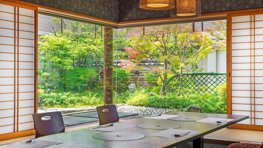 11階 旬越料理「妙高」個室一例