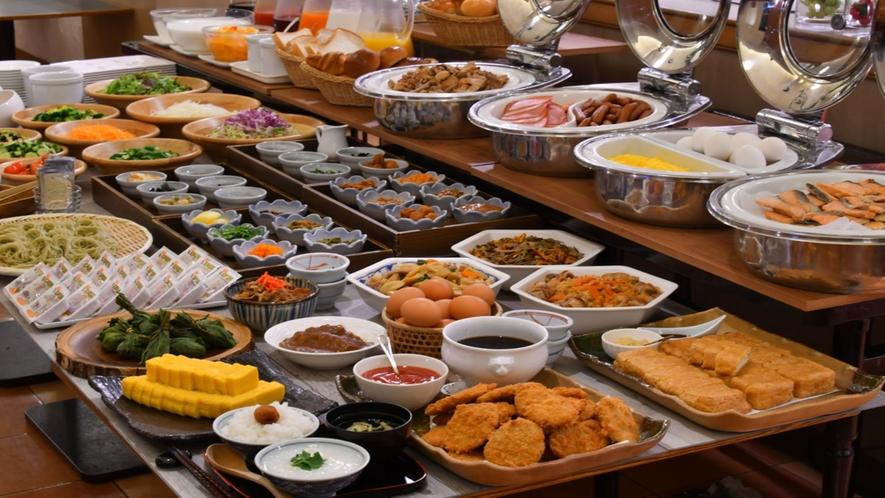 ■朝食イメージ 種類も豊富に取り揃えております■