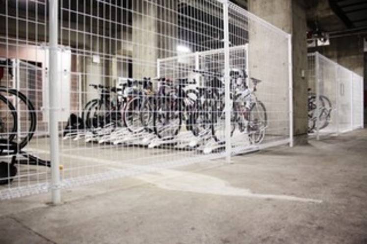 地下駐輪場1