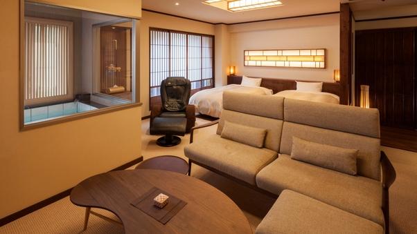 【温泉付】DXツイン721号室【特別フロア「月星」】50平米